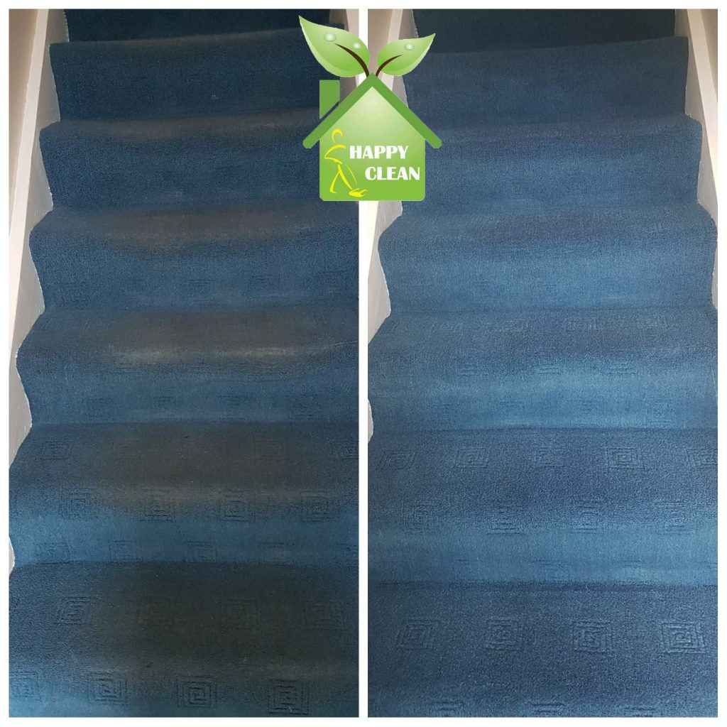 blue carpet cleaning