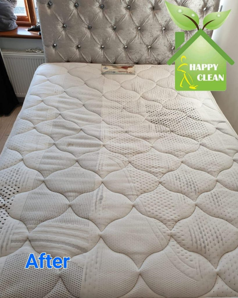 Matress cleaning result