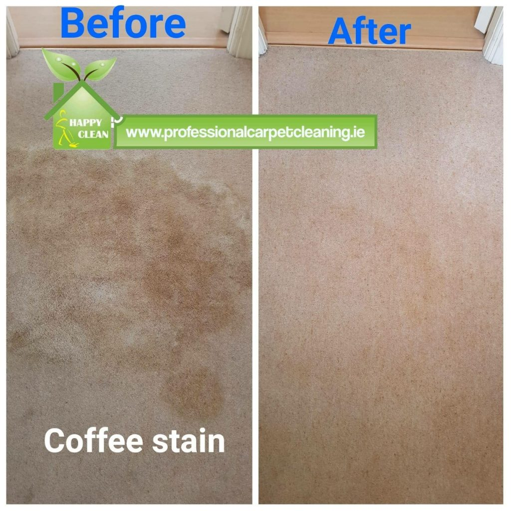 coffee stain carpet cleaning