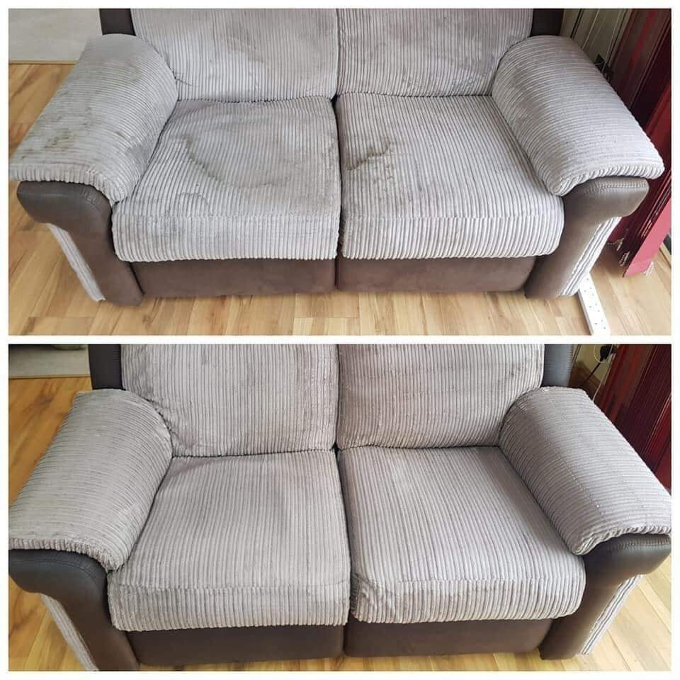 Corduroy upholstery cleaning
