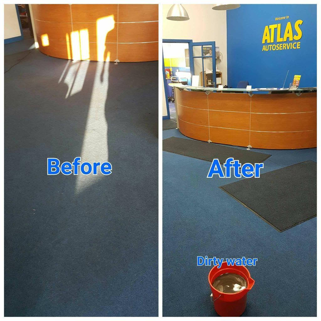 garage carpet cleaning