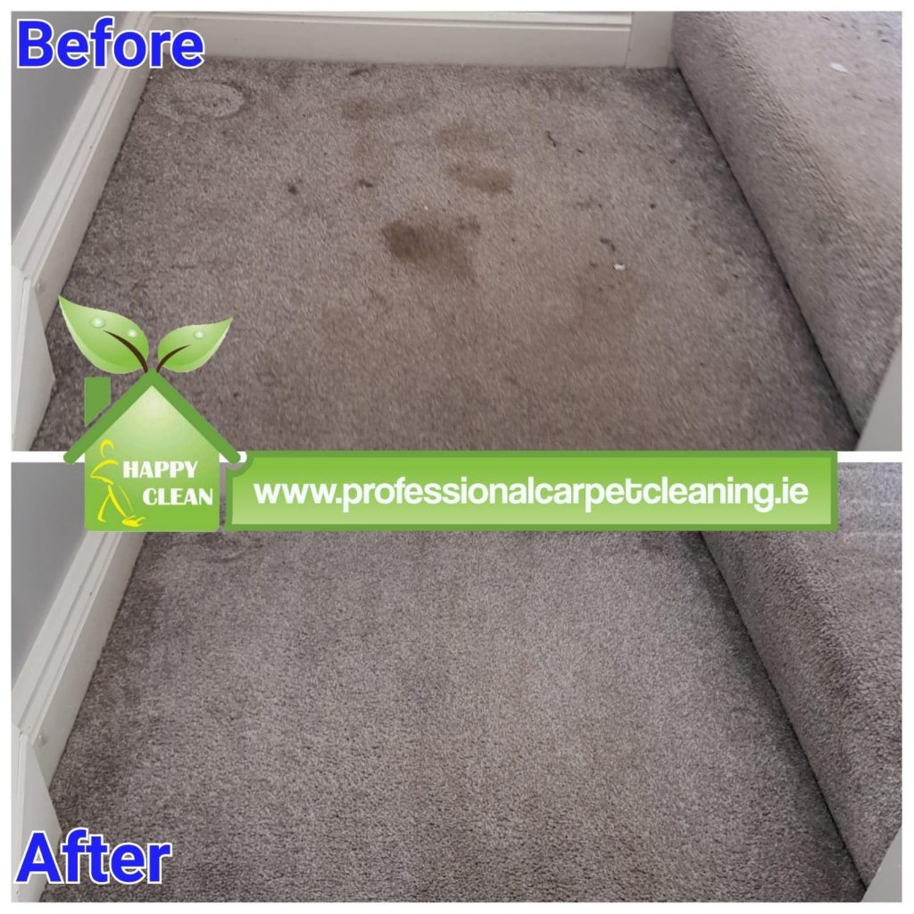 grey carpet cleaning | Before & After
