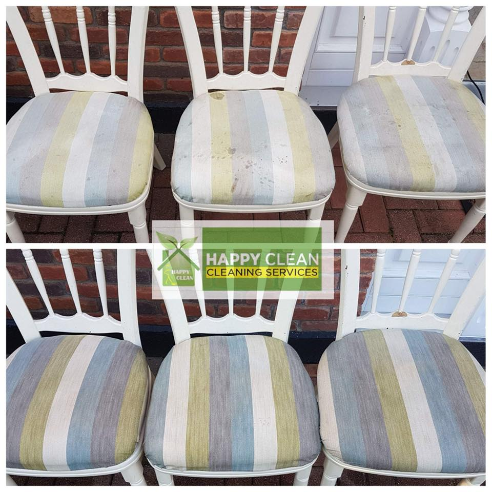 Kitchen chair upholstery cleaning