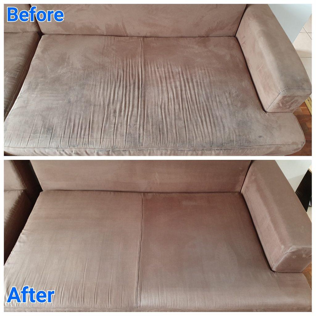 l shape sofa cleaning