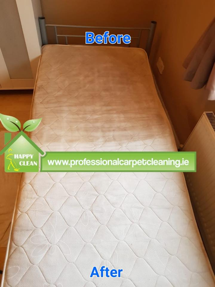 Half mattress clean result