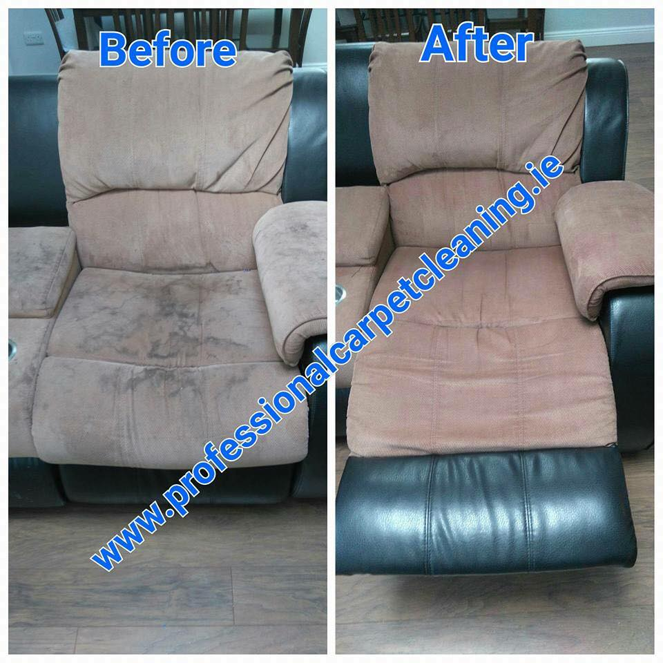 Recliner chair cleaning