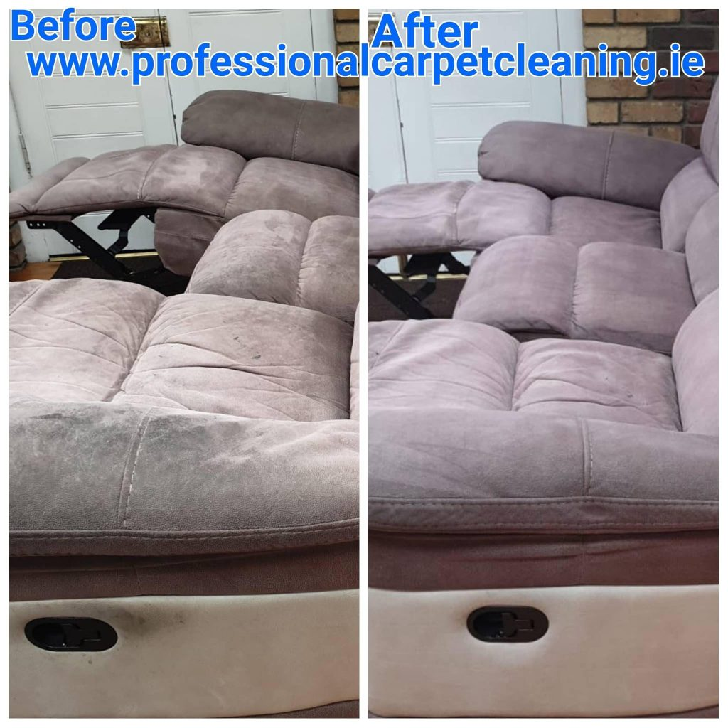 Recliner Upholstery cleaning