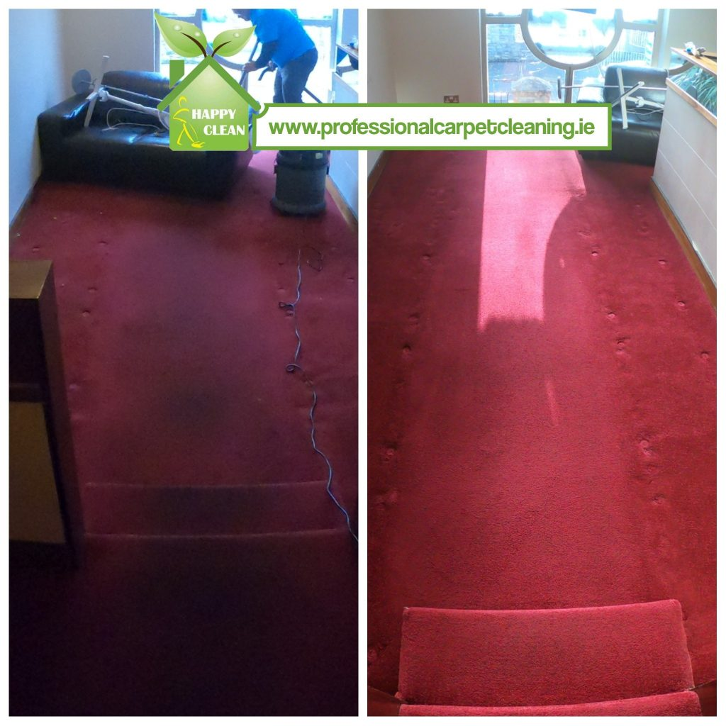 restaurant carpet cleaning | before and after
