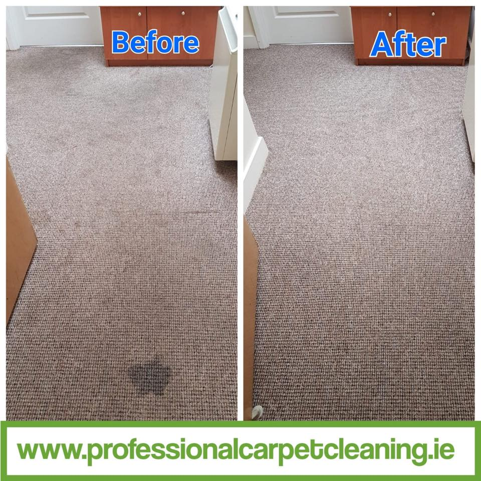 room carpet cleaning before and after