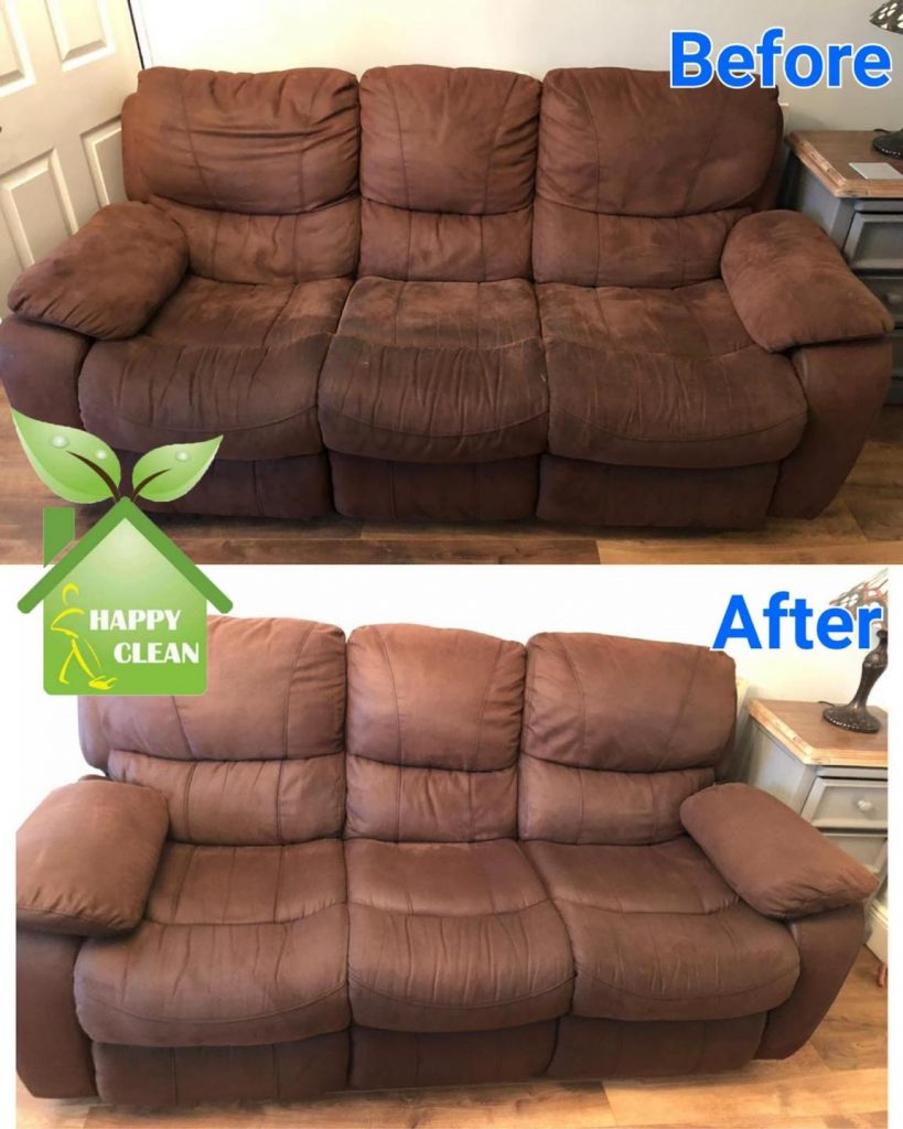 Suede upholstery cleaning
