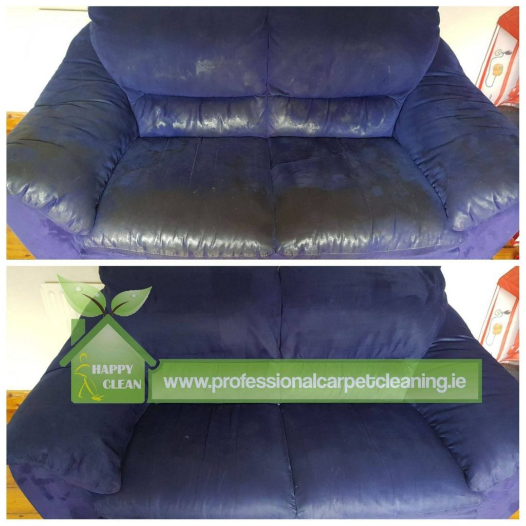 Two-seater upholstery cleaned